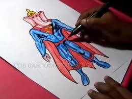 draw superman ganesha drawing kids step step
