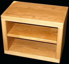 Corner Tv Cabinets For Flat Screens With Doors by Tv Stand Handmade Solid Oak Tv Stand Cabinet Choose Your Size