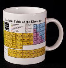 Periodic Table Mug Le Chat Noir Boutique Periodic Table Of Elements Chemistry Coffee