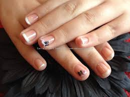 french manicure gel nail designs images nail art designs