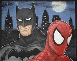 images mexican men acrylic paintings batman spider man