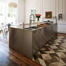 kbbark must haves mix and match kitchen trend historical georgian stainless steel reclaimed wooden flooring bar stools glass siematic kitchen