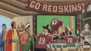 first thanksgiving photos satire unites redskins fans native americans at first