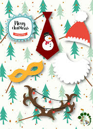 christmas photo booth props diy christmas personalized photo cards photo booth props