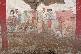 si e de mural murals paint colorful picture of 1000 year fashions
