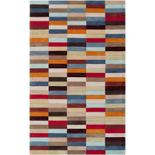 hand tufted troy multicolor geometric rug free shipping on
