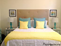 yellow and blue bedroom great blue and yellow bedroom on with cute master update vintage