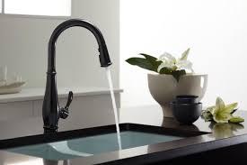 Kitchen Black Sinks And Faucets Eiforces - Sink faucet kitchen