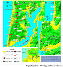 lincoln city map lincoln city oregon tsunami map lincoln free printable images