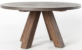 four hands patten chatham dining table with concrete