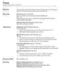 server resume sample resumedoc