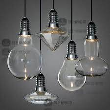 Light Bulb Pendant Fixture by Bar Pendant Lights 4 Shape To Choose Creative Mushroom Hang