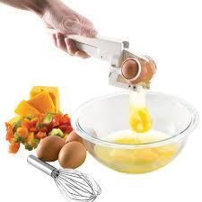amazon com emson ezcracker handheld egg cracker separator egg