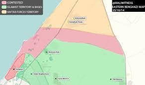 Map Of Benghazi Eastern Benghazi Map 25 10 2014 Themagrebinote