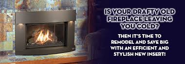 Converting A Wood Fireplace To Gas by Fireplaces Gas Inserts Avalon Firestyles Seattle Wa