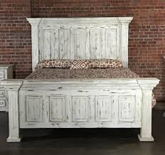 Vintage King Bed Frame Vintage Chalet Vinta Grp Mic37 Kingbed King Nero White Bed Great
