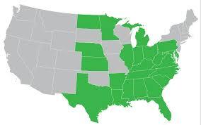 Alliance Ohio Map by Our Members U2013 Capstone Health Alliance