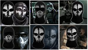 black ops ghost mask ghosts call of duty cosplay maske halstuch gadgets china de