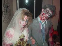 Zombie Bride Groom Halloween Costumes Zombie Bride Groom