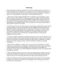 karim virani term report on effective letter writing