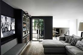room with black walls room with black walls design decoration