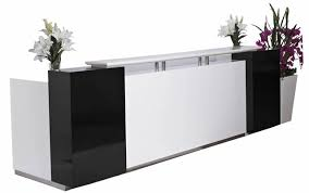 salon front desk furniture choose top quality reception desks for beauty salons at the pretty