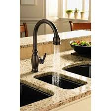 rubbed bronze kitchen faucets kohler k 690 2bz vinnata rubbed bronze pullout spray kitchen