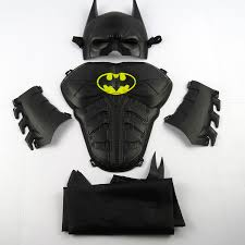 Halloween Batman Costumes Child Cosplay Halloween Toy Child Shield Mask Ball Props