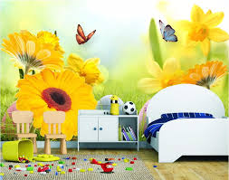 popular sunflower wall murals buy cheap sunflower wall murals lots custom photo 3d room wallpaper mural sunflower butterfly picture painting 3d wall murals wallpaper for living