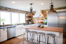 kitchen brick accent wall red brick veneer cheap kitchen