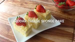 cara membuat kue bolu jadul how to make cheddar chesse sponge cake resep bolu keju cheddar