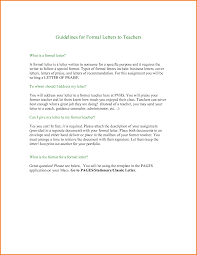 7 formal letter of recommendation format financial statement form