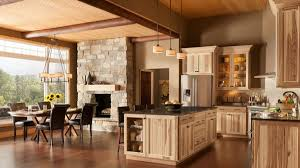 decorating with wood kitchen cabinets rustic hickory kitchen cabinets solid wood kitchen