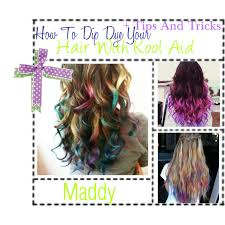 hair color put your picture how to tip dye your hair with kool aid tips and tricks polyvore