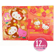 lunar new year envelopes hello mimmy new year envelopes packet 12 pcs