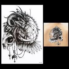 tattoos for men indian indian skull tattoos reviews online shopping indian skull