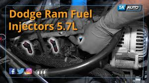 Dodge 1500 Truck Parts - how to install replace fuel injectors 2004 08 dodge ram 5 7l buy