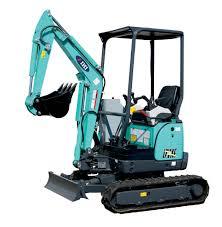 17vxe electric mini excavator