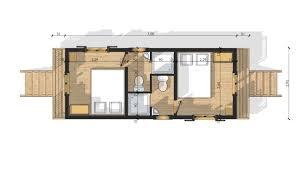 roulotte 2 chambres cuisine roulottes en bois hotel avec sanitaire plan chalet bois
