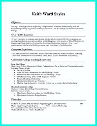 Resume Format For Experienced Mechanical Design Engineer Machinist Resume Sample Machinist Resume Template Field Sales And