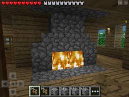 Minecraft Furniture Ideas Pe W2 Fireplace Minecraft Pe My Minecraft Pinterest Minecraft