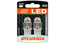sylvania 7443led bp2 sylvania zevo led bulbs free shipping