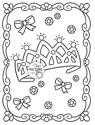 barbie coloring pages 11 princess crown coloring pages