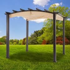 Retractable Roof For Pergola by Hampton Bay Pergola With Retractable Roof Pergola Gazebo Ideas