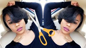 relaxed short bob hairstyle styling my super short relaxed hair hair update youtube