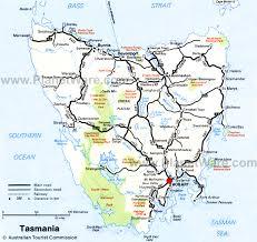 map of tasmania australia 12 top tourist attractions in tasmania planetware