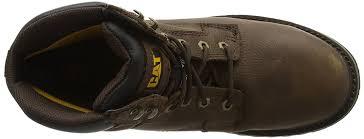 buy caterpillar caterpillar men u0027s electric safety boots brown