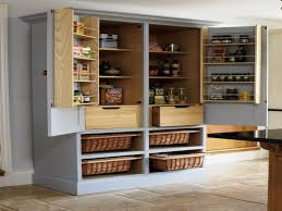 Furniture Kitchen Storage Design Of Install Freestanding Pantry Cabinet Cabinets Beds