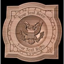 military retirement gift wooden wall plaque veterans gift army
