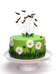 hochzeitstorte nã rnberg gerber cake with bees margariten torte mit bienen aus